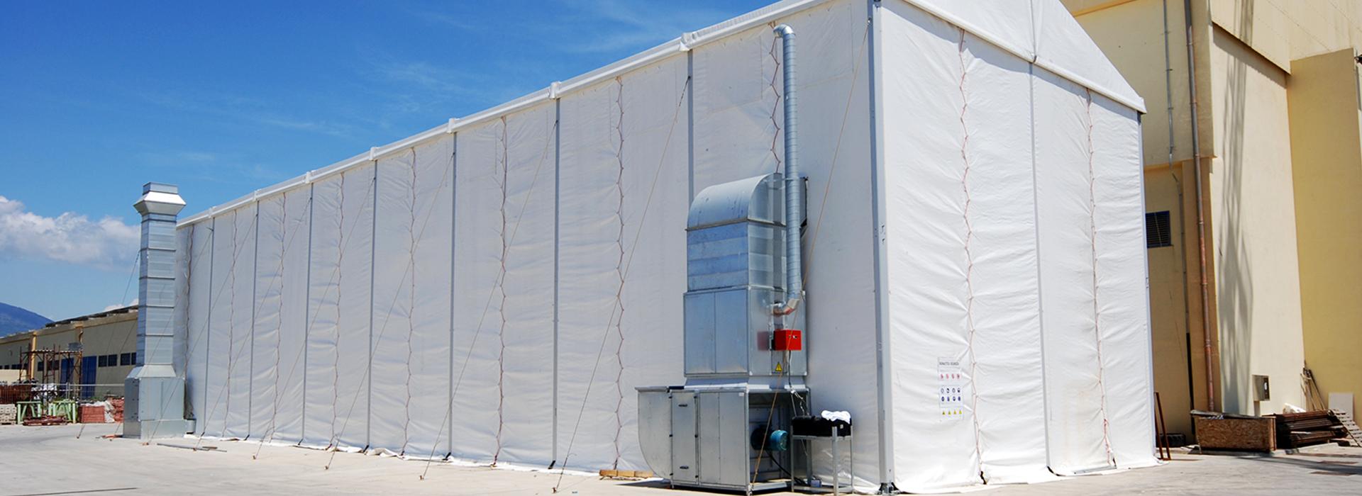 Aluminium/Steel PVC Yacht Shelters